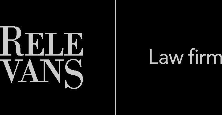 Relevans logo šedé